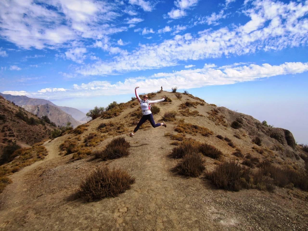 The ridge...